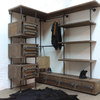 Stefan reclaimed scaffolding   steel pipe 3 sided industrial open wardrobe  carla muncaster treniq 1 1523005383769