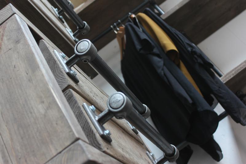 Stefan reclaimed scaffolding   steel pipe 3 sided industrial open wardrobe  carla muncaster treniq 1 1523005383768