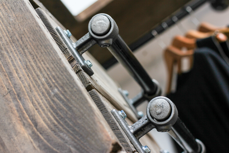 Stefan reclaimed scaffolding   steel pipe 3 sided industrial open wardrobe  carla muncaster treniq 1 1523005383775