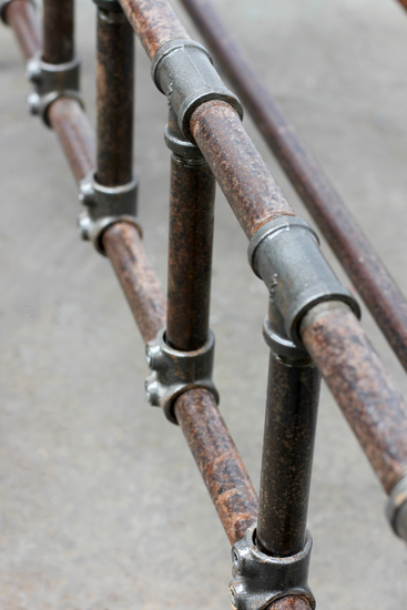 Mark distressed steel pipe and industrial scaffolding fittings kingsize bed carla muncaster treniq 1 1523029498444