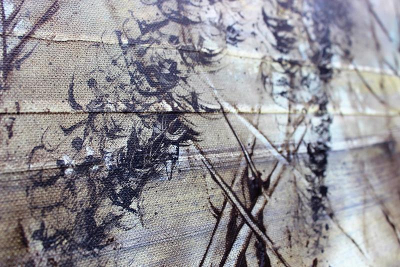 Skyfall mist semi abstract painting 20 x 40%22 lindsey keates environmental artist  treniq 1 1523202959048