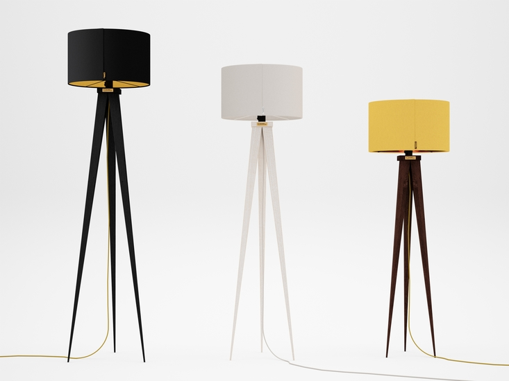 Handmade standing lamp tripod treniq handmade standing lamp tripod zapprian studio zappriani treniq 1 1523452432750 aloadofball Gallery