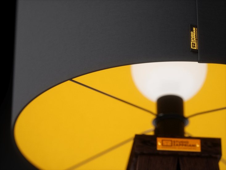 Handmade standing lamp tripod zapprian studio zappriani treniq 1 1523452438400