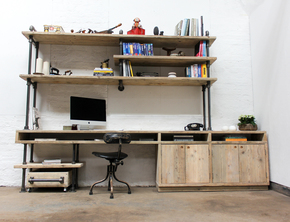 Pourreza-Reclaimed-Scaffolding,-Steel-Pipe-Industrial-Desk-With-Storage-_Carla-Muncaster_Treniq_0