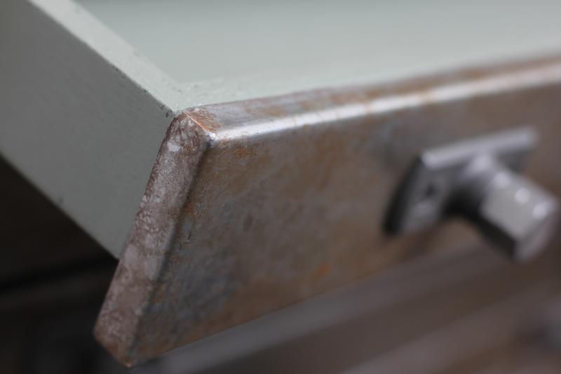 Faraz recycled scaffolding   distressed steel plan chest on locking castors carla muncaster treniq 1 1523972746603