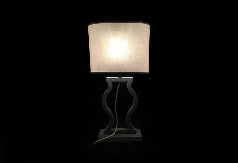 Black marble table lamp matlight milano treniq 1