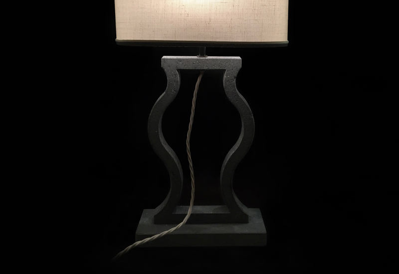 Black marble table lamp matlight milano treniq 3