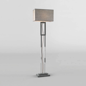 Grey Marble Floor Lamp - Matlight Milano - Treniq