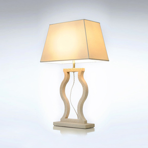 White Marble Table Lamp - Matlight Milano - Treniq