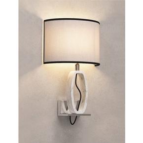 White Marble Wall Lamp - Matlight Milano - Treniq