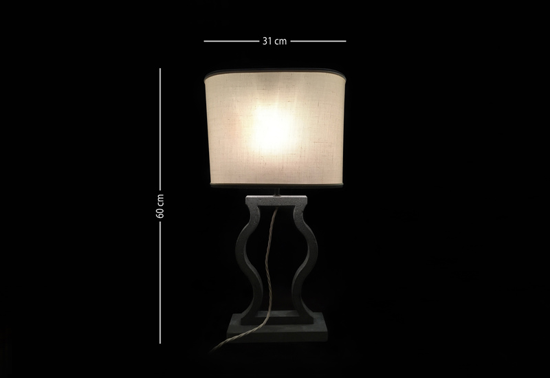 Black marble table lamp matlight milano treniq 5