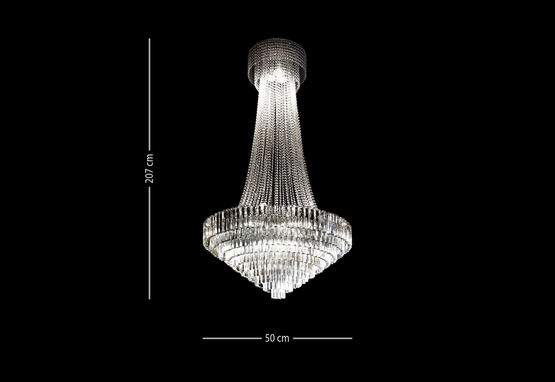 Italian crystal chandelier il paralume marina treniq 4
