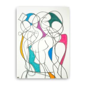 Eight Colour Abstract II - Kevin Jones - Treniq
