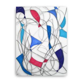 Five Colour Abstract V - Kevin Jones - Treniq