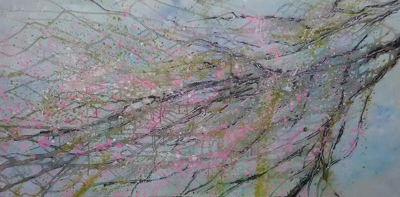 Cherry blossoms lindsey keates environmental artist  treniq 1 1526245918688