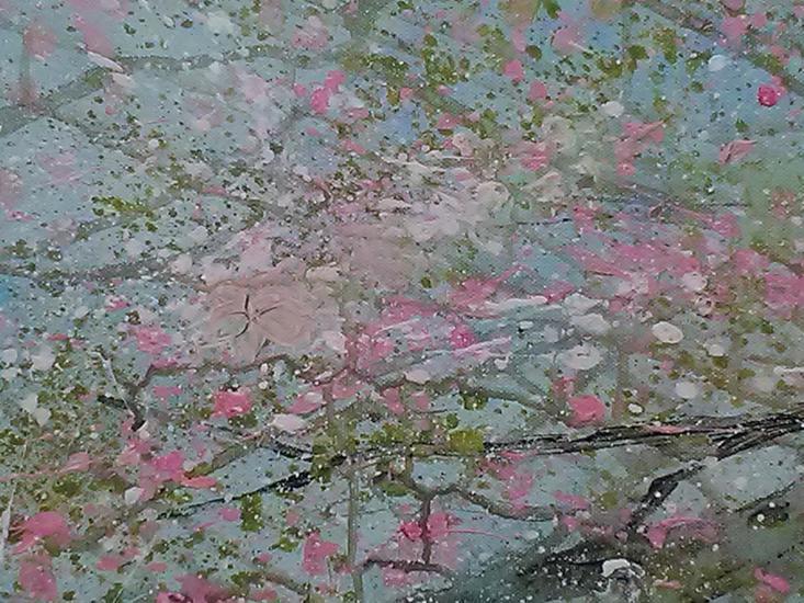 Cherry blossoms lindsey keates environmental artist  treniq 1 1526245965166