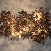 Copper leaf chandelier jonathan coles lighting studio treniq 1 1526459434408