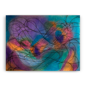 Multicoloured Composition V - Kevin Jones - Treniq