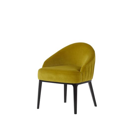 Cersie dining chair vadit lemon fabric  sonder living treniq 1 1526637336429