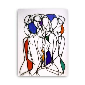 Nine Colour Abstract III - Kevin Jones - Treniq