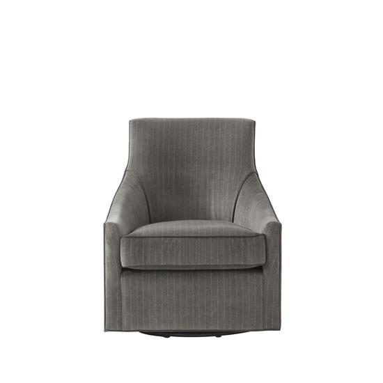 Fraser swivel chair vienna graphite fabric  sonder living treniq 1 1526638068507