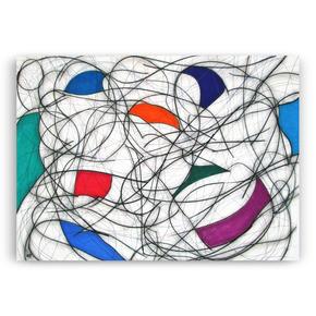 Nine Colour Abstract VII - Kevin Jones - Treniq