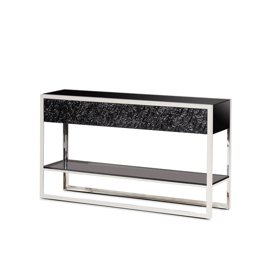 Dexter 2 drawer console stainless steel  sonder living treniq 1 1526643381094