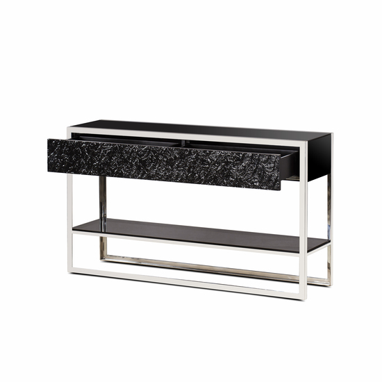 Dexter 2 drawer console stainless steel  sonder living treniq 1 1526643381127