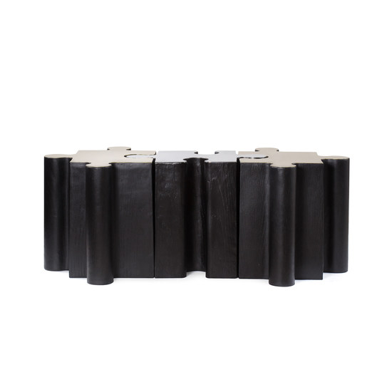 Metal jigsaw coffee table  sonder living treniq 1 1526643637908