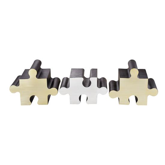 Metal jigsaw coffee table  sonder living treniq 1 1526643658703