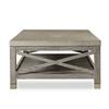 Percival coffee table shagreen top champagne shagreen   grey washed  sonder living treniq 1 1526644184946