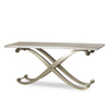Elizabeth console table shagreen top ss legs  sonder living treniq 1 1526645151652