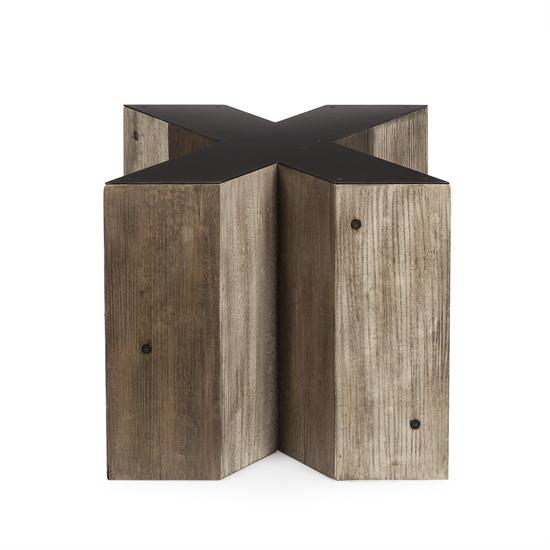 Alphabet side table letter x  sonder living treniq 1 1526645530952
