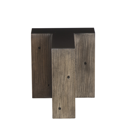 Alphabet side table letter t  sonder living treniq 1 1526646012191
