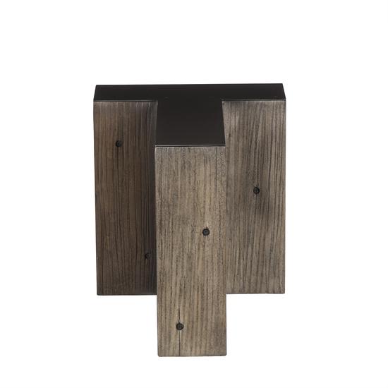 Alphabet side table letter t  sonder living treniq 1 1526646012198