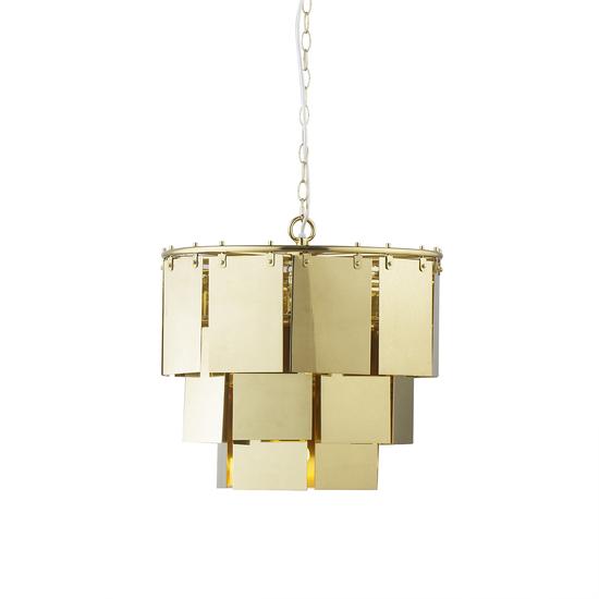 Marilyn small brass chandelier  sonder living treniq 1 1526878973198