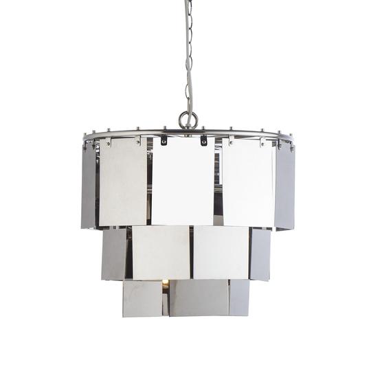 Marilyn small stainless steel chandelier  sonder living treniq 1 1526879178358
