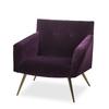 Kelly occasional chair vadit deep purple (uk)  sonder living treniq 1 1526881057205