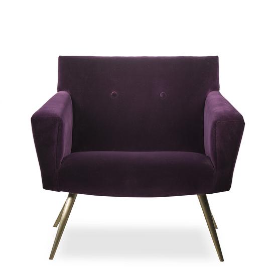 Kelly occasional chair vadit deep purple (uk)  sonder living treniq 1 1526881057214