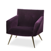 Kelly occasional chair vadit deep purple (uk)  sonder living treniq 1 1526881057207