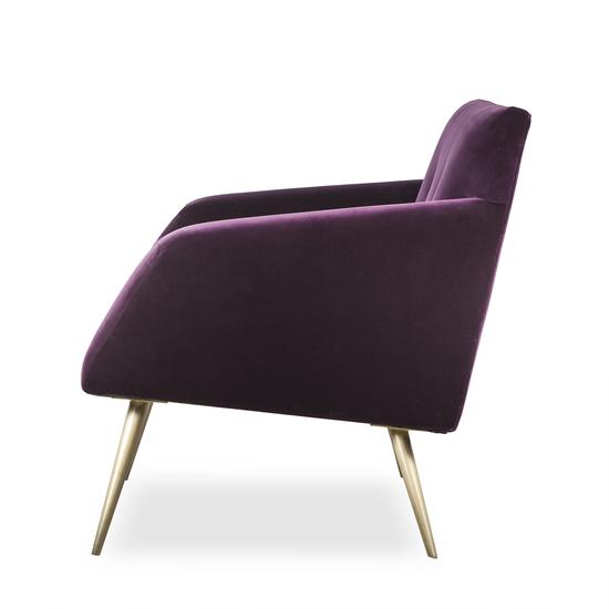 Kelly occasional chair vadit deep purple (uk)  sonder living treniq 1 1526881057231