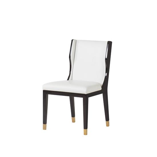 Taylor dining chair white leather  sonder living treniq 1 1526881079610