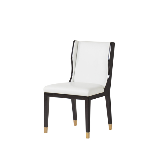 Taylor dining chair white leather  sonder living treniq 1 1526881079616