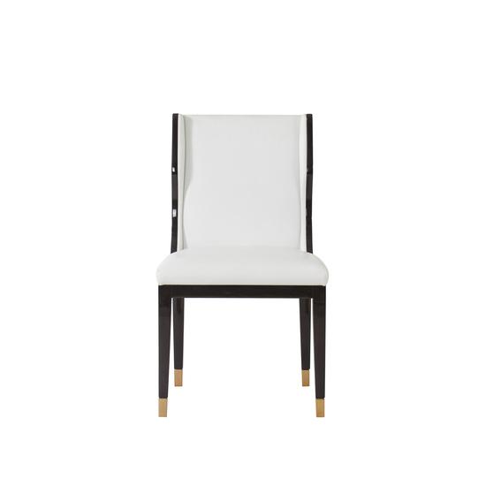 Taylor dining chair white leather  sonder living treniq 1 1526881079639