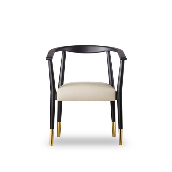 Soho dining chair matt black  sonder living treniq 1 1526882159560