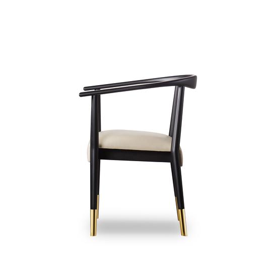Soho dining chair matt black  sonder living treniq 1 1526882159563