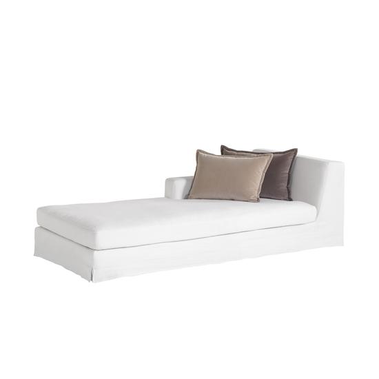 Jackson modular sofa left arm facing chaise warm white  sonder living treniq 1 1526882603497