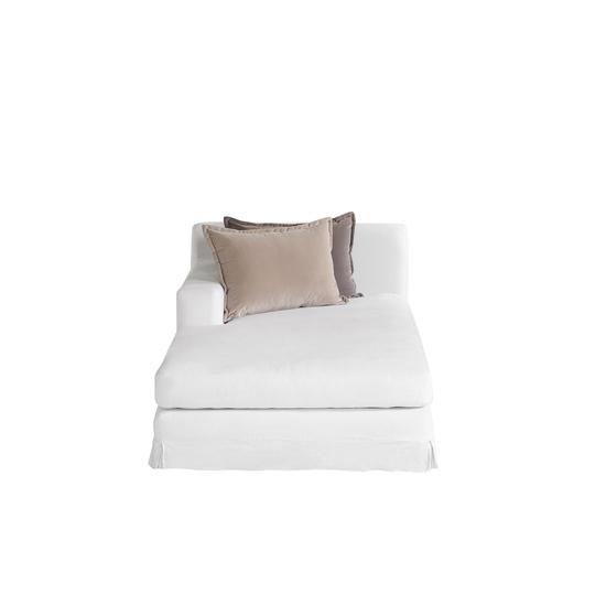 Jackson modular sofa left arm facing chaise warm white  sonder living treniq 1 1526882603515