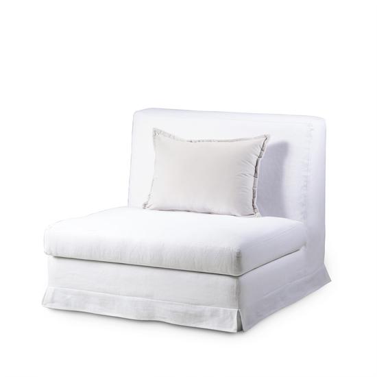 Jackson modular sofa 1 seat no arms warm white  sonder living treniq 1 1526882633592