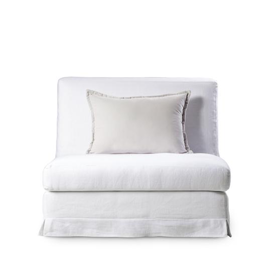 Jackson modular sofa 1 seat no arms warm white  sonder living treniq 1 1526882633598